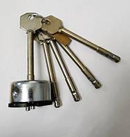 """Циліндровий механізм """"Бар'єр"""" ЦСМ-11Р для 4Р, 4КР з довжиною ключа 78 мм"""