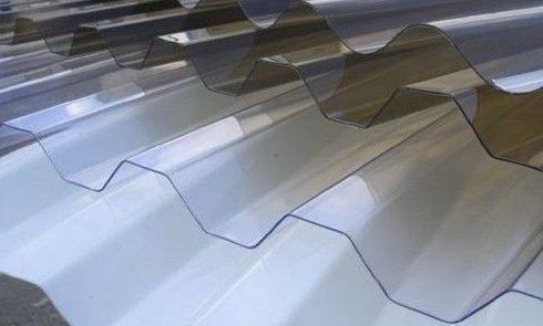 Профільований  полікарбонат Borrex 1.05*2м прозорий