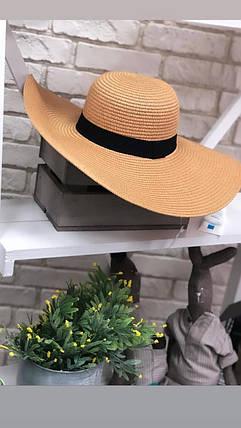 """Крутые и очень практичные женские шляпы из """"Мягкого соломенного плетения"""" качество отличное, фото 2"""
