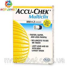 Ланцеты Accu-Chek Multiclix 100+2