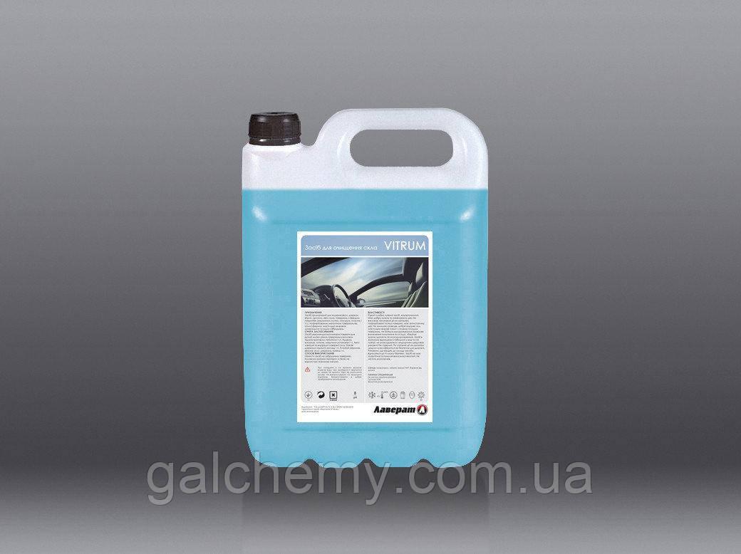 Засіб для очищення скла автомобіля VITRUM (5 л) ТМ Лаверат