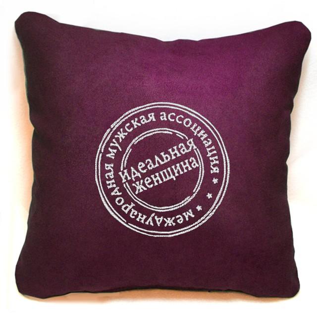 """Сувенирная подушка """"Лучшая женщина"""""""