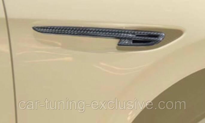 MANSORY front fender ,,B,, emblem for Bentley Flying Spur 2