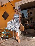 Женский сарафан-миди с поясом (в расцветках), фото 5