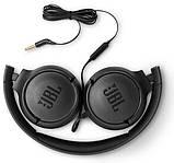 Наушники  JBL TUNE500 Pure Bass black, фото 6