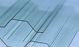 Профільований  полікарбонат Borrex 1.05*2м прозорий, фото 4