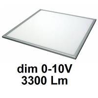 О6633-40 25Вт 3300Лм 4000К диммируемая (0-10В) светодиодная LED-панель 600х600