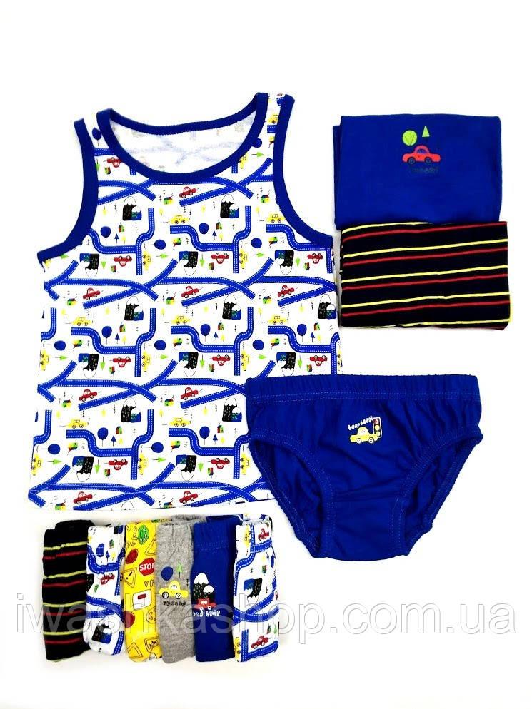 Комплектом майки и трусы на мальчика 4 - 5 лет, р. 110, Primark