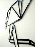 Настенный декор. Геометрические фигуры. Лофт. Панно из металла., фото 4