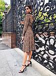 Женское платье на запах с поясом (в расцветках), фото 4