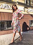 Женское платье на запах с поясом (в расцветках), фото 6