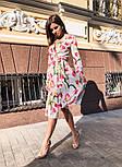 Женское платье на запах с поясом (в расцветках), фото 8
