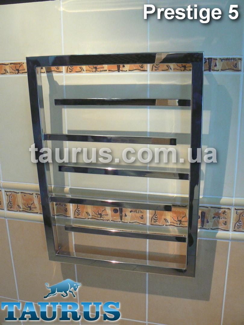 Оригинальный полотенцесушитель Prestige 5 /650х450. Средних размеров. Все системы отопления + ТЭН