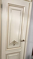 Двері білі (двери) з масиву дерева(ясен, дуб, клен).