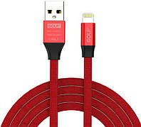 Кабель GOLF GC-55I Lightning cable 1m Red #I/S