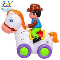 "Игрушка Huile Toys ""Ковбой на веселой лошади"", фото 1"