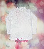 Подростковая блузка Гипюр гипюр