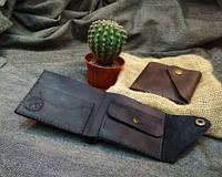 Чоловіче портмоне з натуральної шкіри Січ, фото 1