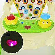 Детские ходунки BAMBI с музыкой и светом М 3664 Red Гарантия качества. Быстрая доставка., фото 2