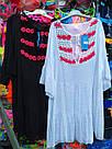 Туника-платье пляжная средней длины , фото 3
