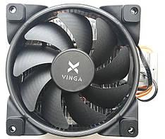 Вентилятор для CPU Vinga для Intel и AMD Soket AM4, 1151, 775, 1150, 1155, 1156, AM2, AM2+, AM (CL3003) Новый!