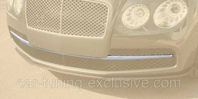 MANSORY add on chrome stripe for Bentley Flying Spur