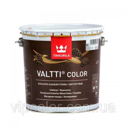 Tikkurila Valtti Color фасадная лазурь на масляной основе EP 2,7л