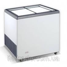 Морозильный ларь Crystal Ektor 26 SGL (прямое стекло)