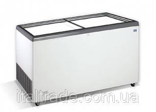 Морозильний лар Crystal Ektor 56 SGL (пряме скло)