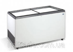 Морозильный ларь Crystal Ektor 56 SGL (прямое стекло)