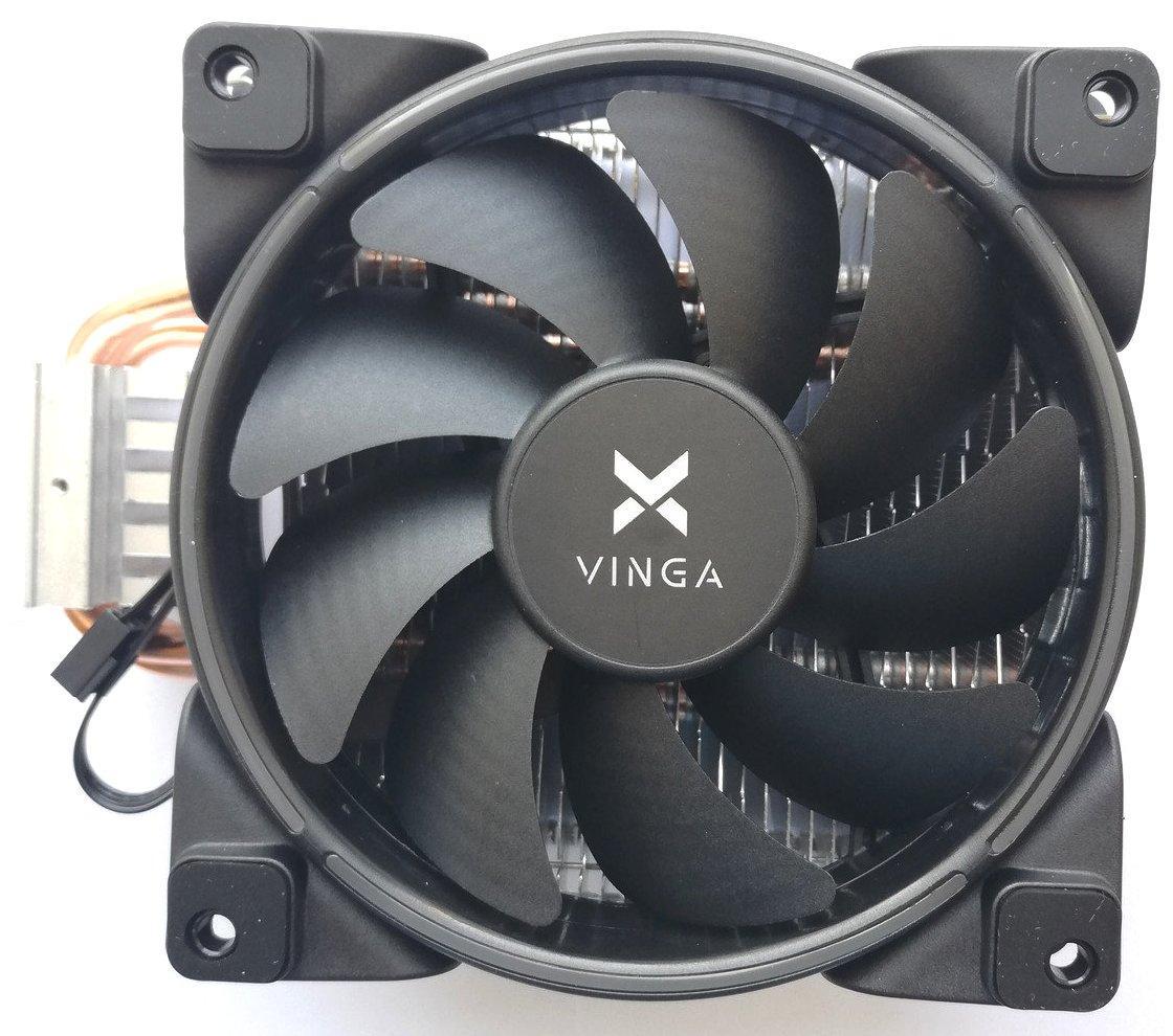 Вентилятор для CPU Vinga CL3004 125W/TDP 4-pin для Intel и AMD Новый!