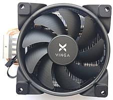 Вентилятор для CPU Vinga для Intel и AMD Soket 1151, AM4, 775, 1150, 1155, 1156, AM2, AM2+ (CL3004) Новый!