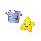 Наклейки для приучения ребенка к горшку и унитазу Magic Sticker ( Набор из 2-х наклеек), фото 2