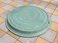 Люки канализационные зеленые (до 3т)