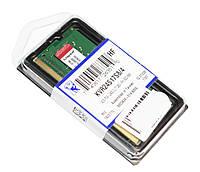 Оперативная память Kingston SODIMM DDR4 2400 4096MB PC4-19200 (KVR24S17S8/4)
