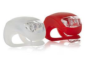 Велосипедные силиконовые фонари HJ 008-(2шт в комплекте)