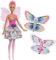 Кукла Барби Фея Летающие крылышки Дримтопия Barbie Dreamtopia Rainbow Cove FRB08