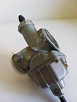 Карбюратор на мотоцикл 4T CB/CG 200 250 (PZ30, дроссель под трос) на советский и китайский мотоцикл HKS