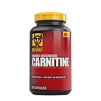 Л-Карнитин жиросжигатель PVL Mutant Carnitine 120 капсул