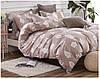 Комплект постельного белья полуторный 150*220 хлопок Bella noche