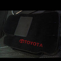 Ворсовые коврики в салон Тойота Yaris (2006-2011)