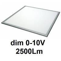 О6625-40 20Вт 2500Лм 4000К диммируемая (0-10В) светодиодная LED-панель 600х600