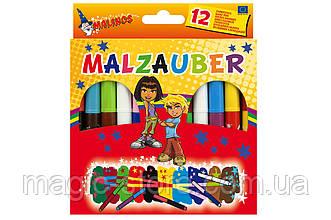 Волшебные фломастеры меняющие цвет MALINOS Malzauber 12 (10+2) шт