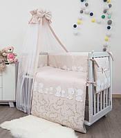 Детская постель Twins Sweet SW-016 Umka pink 8 эл