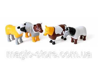 Пазл 3D магнитные животные POPULAR Playthings Mix or Match (ферма)
