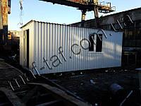 Бытовка строительная 5,7х2,5х2,2 м, фото 1