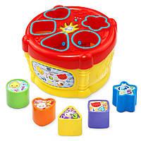 Розвиваюча Музична іграшка сортер барабан Vtech Sort & Discover Drum