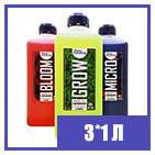 3 х 1 л Hydroponics Kit