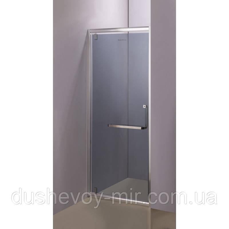 Душевая дверь Aquastream Door 90 графит (тонированная)