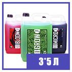 3 х 5 л Hydroponics Kit